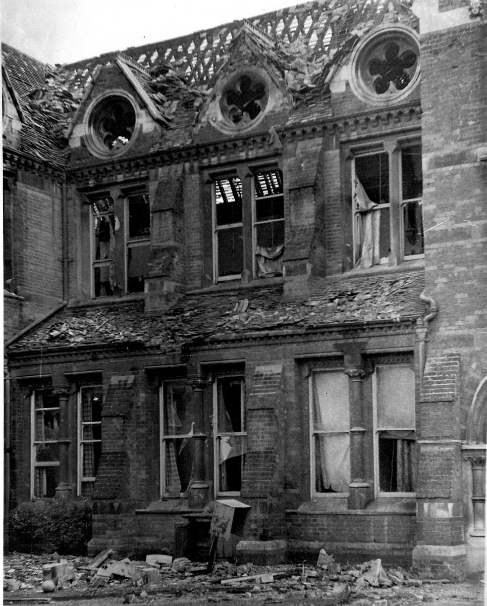 Cambridge Union Society (Bomb Damage)